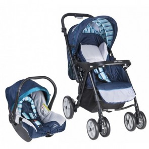 Coche Extoura Blueberry Con Baby Silla Y Base Infanti Joie